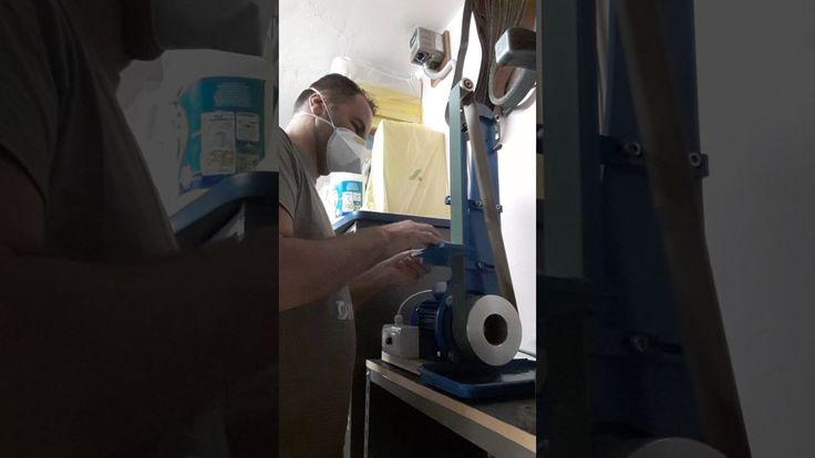 Belt grinder home made