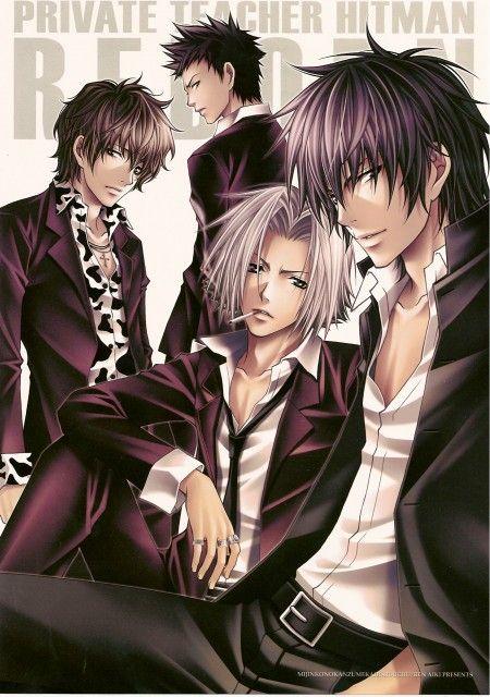 Aiki Ren, Katekyo Hitman Reborn!, Lambo, Takeshi Yamamoto, Hayato Gokudera