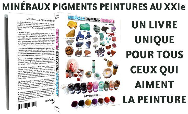 Participer à la parution d'un livre unique de 500 pages sur la Peinture, les Pigments, les Matières, etc. …. http://bit.ly/Mon-Livre-Sur-KissKissBankBank