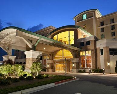Embassy Suites Atlanta - Kennesaw Town Center, GA - Exterior at Night | GA 30144