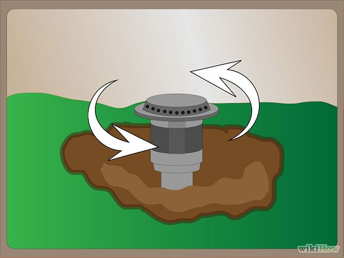 How to Repair a Pop up Sprinkler Head