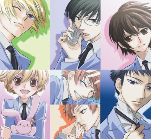 Ouran highschool host club haruhi x mori