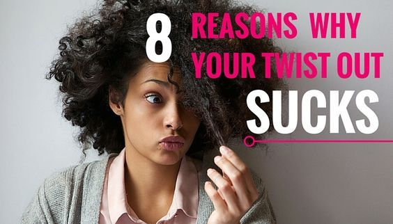 Often times twist outs are not as easy as they seem. Here are the reasons why your twist out failed and turned out all wrong.