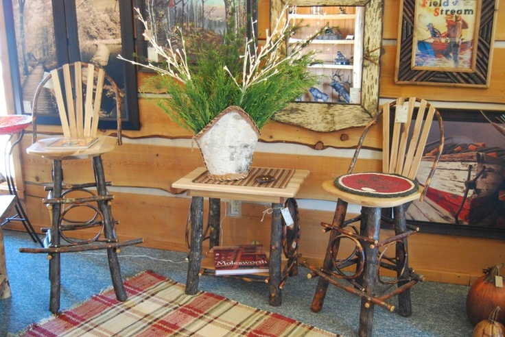 Amish Made Hickory 24 Quot And 30 Quot Bar Stools With Backs And