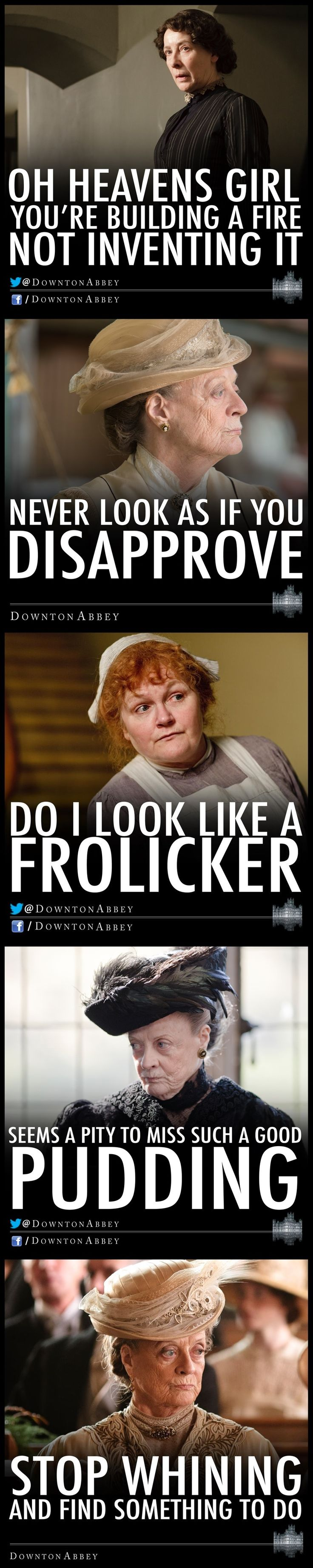 downton abbey funnies