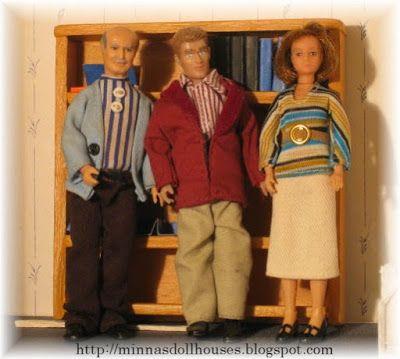 Minna's Miniatures: Lundby dollhouse dolls