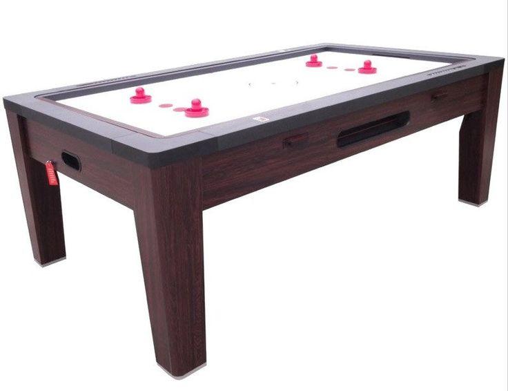 Berner 6 In 1 Multi Game Table In Walnut