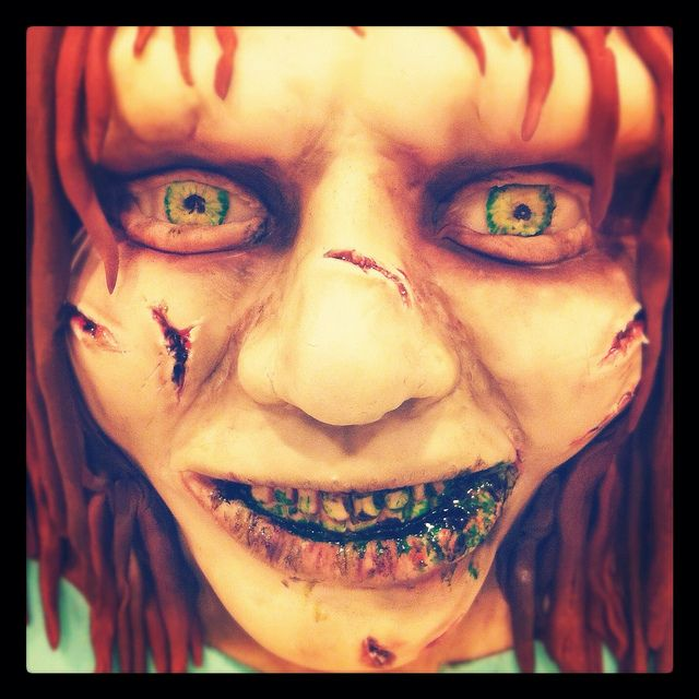 Halloween Scary Cake
