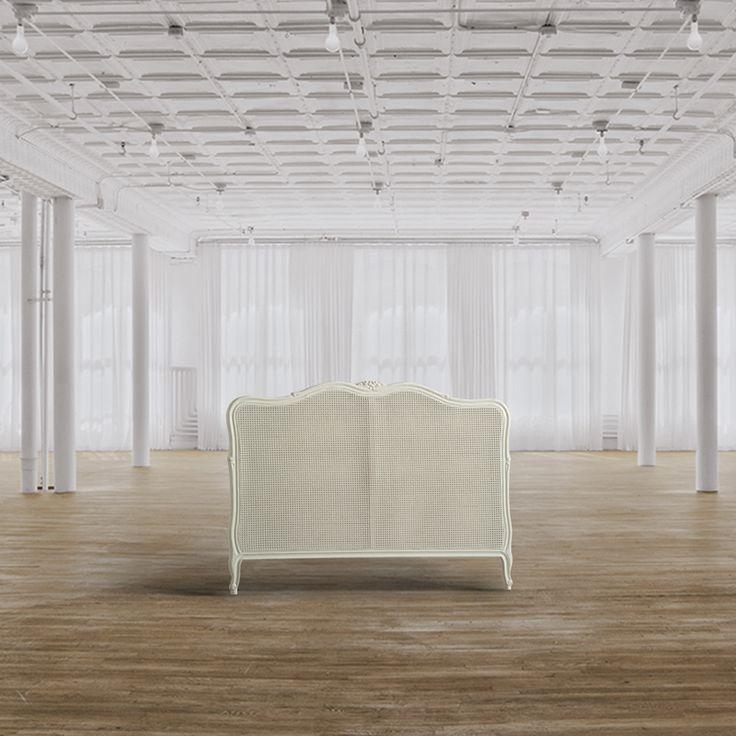 Testiera matrimoniale dimensioni hxlxp cm 121x170x8 - Letto matrimoniale legno bianco ...