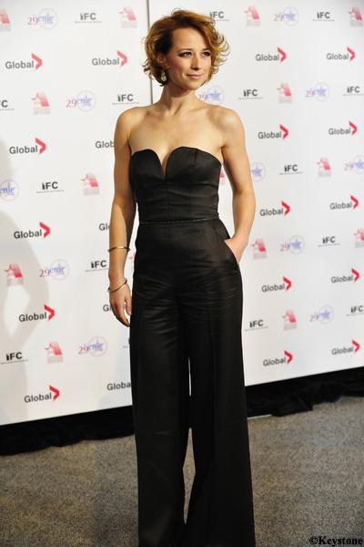 #Karine #Vanasse en cinq tenues de #tapisrouge: 29e cérémonie annuelle des Genie Awards