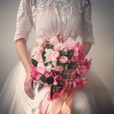 182 best Bouquets - Pinks images on Pinterest | Wedding bouquets ...