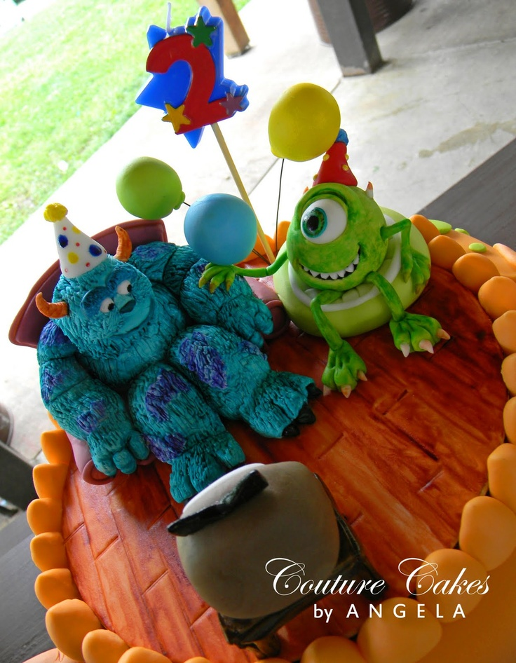 Couture Cakes by Angela: Monster's Inc. Celebration for Brock!