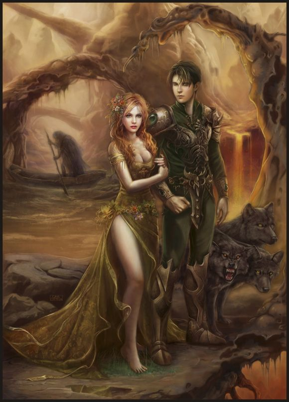 Image result for persephone and hades