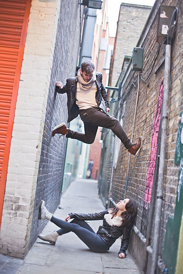 Unique Engagement Shoot Inspired By 'Dancers Among Us'