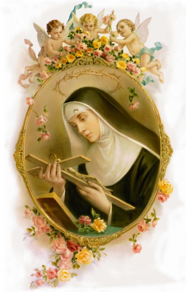 JESUSCARITASEST.ORG: NOVENA PRAYER TO ST. RITA PATRON OF IMPOSSIBLE AND FREE MOVIE OF HER LIFE - MAY 22 FEAST