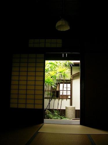 View from room of Oohashi's House #japan #okayama #kurashiki