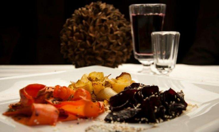 Duszone warzywa korzeniowe - kuchnia Manor House