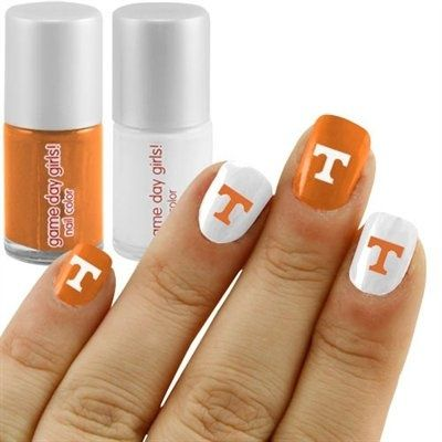 University of Tennessee nails
