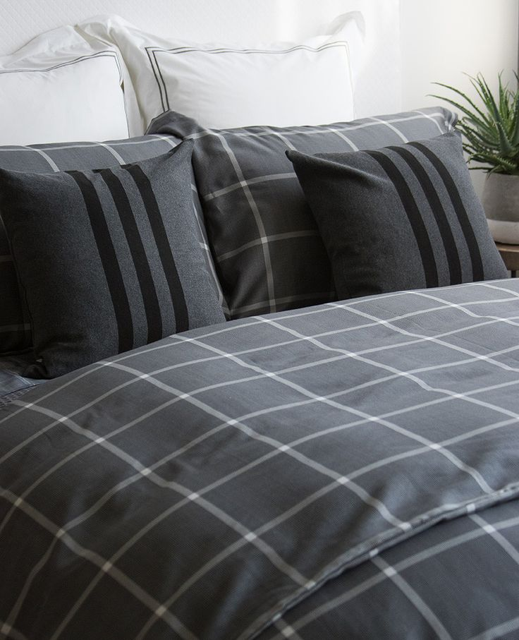 49 best images about plaid in the bedroom on pinterest guest rooms fine linens and. Black Bedroom Furniture Sets. Home Design Ideas
