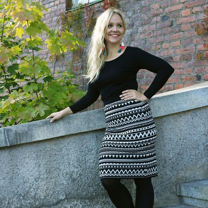 Uhana Design, Hekla-skirt. Finnish design made in Finland.