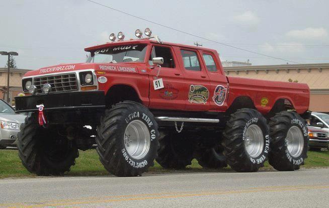 www.pinterest.com/1895gunner/ | 1978 red lifted Ford truck ...