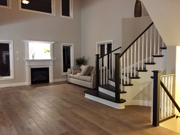 Refurbished Staircase From The Old Honey Oak