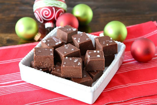 Chocolate Nutella & Sea Salt Fudge - great for gifts!