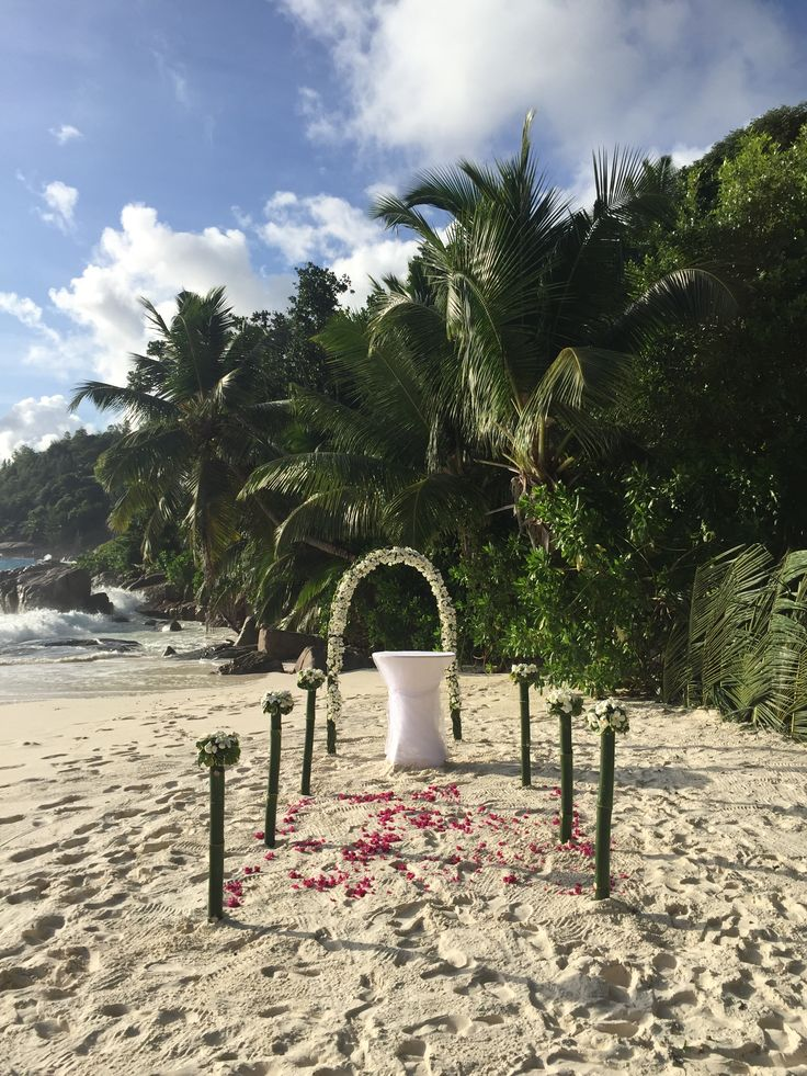 Get the proposal right and this could be your white sand aisle and dream barefoot wedding...