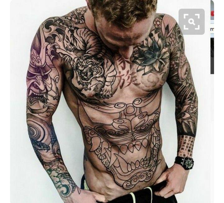 Japanese Buddha Belly Tattoo