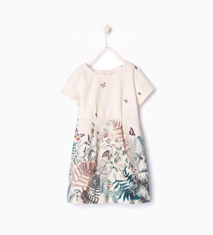 ZARA - COLLECTION AW15 - Printed jacquard dress