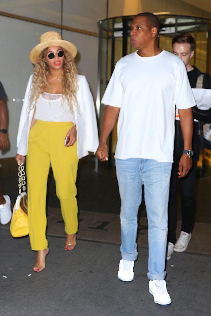 Få looket: Brug den gule farve som Beyonce