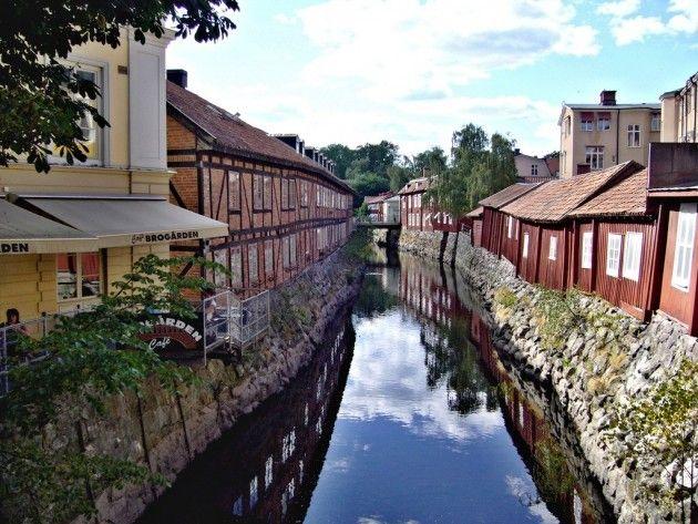 Old town in Västerås