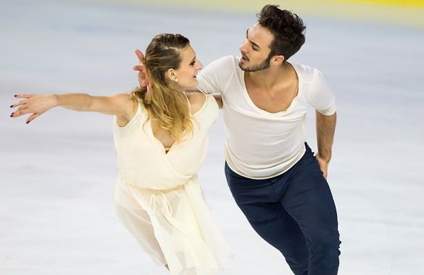 Newly-crowned French Champions Gabriella Papadakis and Guillaume Cizeron are aiming high for the upcoming 2015 European Figure Skating Championships.