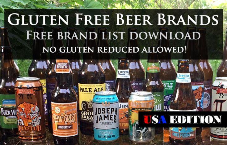USA Gluten Free Beer Brand List