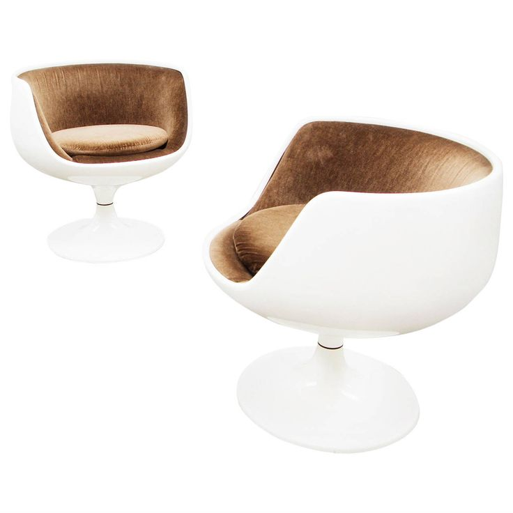 Pair of Swivel Chairs by Eero Aarnio for Asko Finland