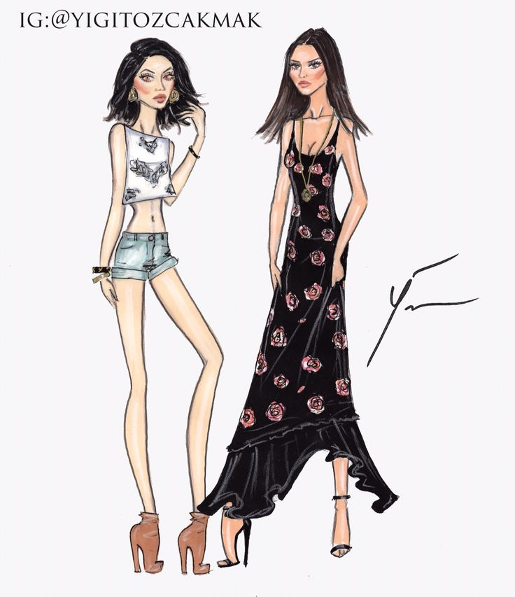 Kylie and Kendall Jenner for Pacsun by Yigit Ozcakmak kalifornia-klasss