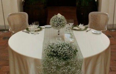 Matrimonio alla Certosa di San Giacomo. Il tavolo degli sposi | Certosasangiacomo