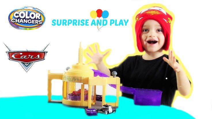 Ramone's Color Changer's Playset and Disney Pixar Color Changer Cars cha...