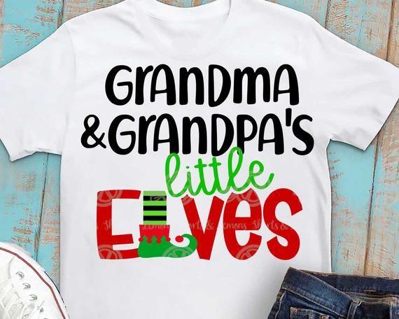 Download elves svg Christmas svg family svg grandkids shirt ...