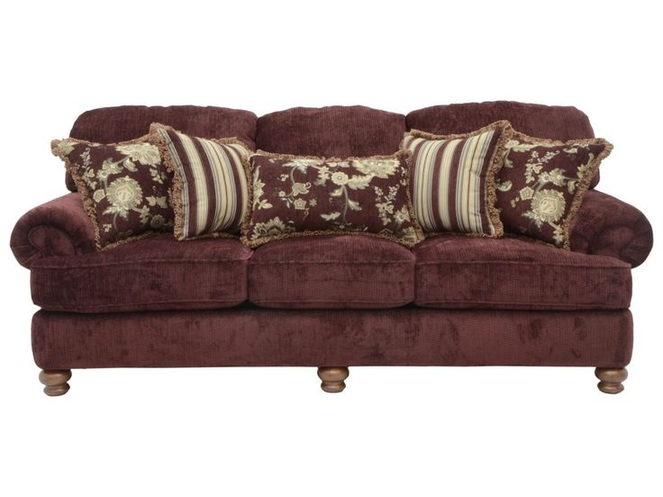 This Sofa Offers Traditional Style With Deep Seating Comfort That Works Wells For Informal Relaxing And