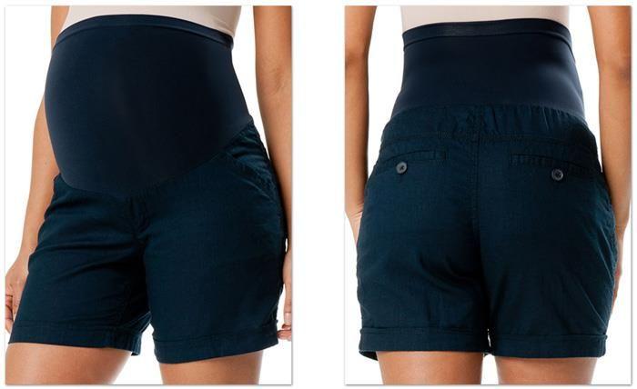 Короткие шорты для беременных фото