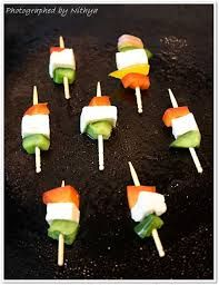 Independence Day Theme Party Food Decoration