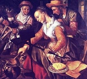 """'The Tuesday of Shrovetide is a particularly big party day known as """"Mardi Gras"""" (French for """"Fat Tuesday"""") -- or """"Pancake Tuesday"""" because fats, eggs, and butter in the house had to be used up before Lent began, and making pancakes or waffles was a good way to do it.'"""