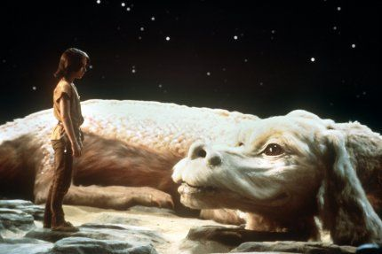 "Falkor from ""NeverEnding Story""...possibly the only true ""fantasy"" movie I ever entirely enjoyed."