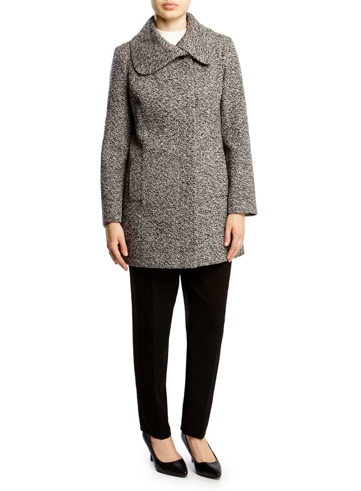 Petite textured coat from BHS