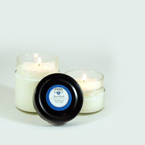 Sit out on your porch on a scorching summer night, right before a hot summer storm. Wait for the rain with our Storm Watch Soy Candle with the smell flowers closing up before the storm hits.