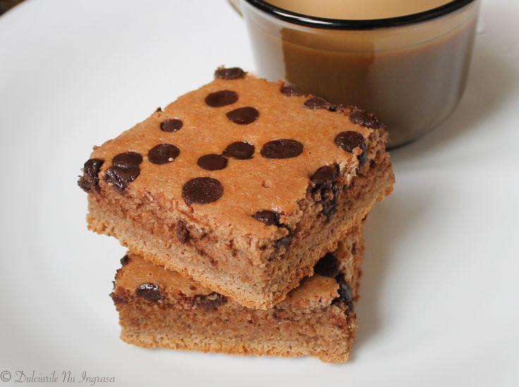 Brownies (fara zahar, fara gluten, continut scazut de grasimi) - Powered by @ultimaterecipe