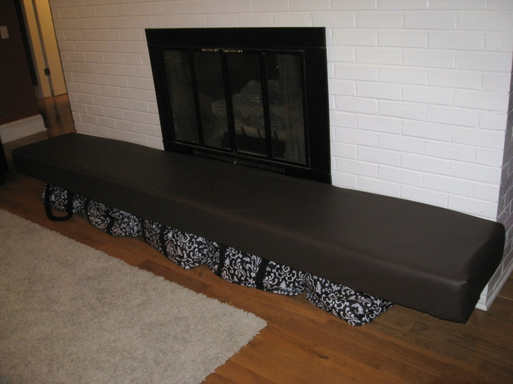 We Needed To Baby Proof Our Fireplace Hearth And We Found A Cheap Way To Do It My Husband Used