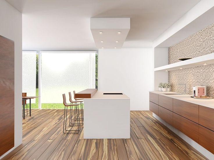 Revestimiento de pared/suelo imitación madera para interiores OLIVE TREE by YURTBAY SERAMIK