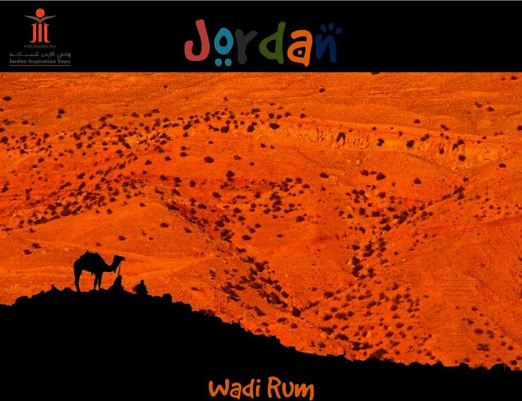 Camel safari in Wadi Rum with Jordan Inspiration Tours